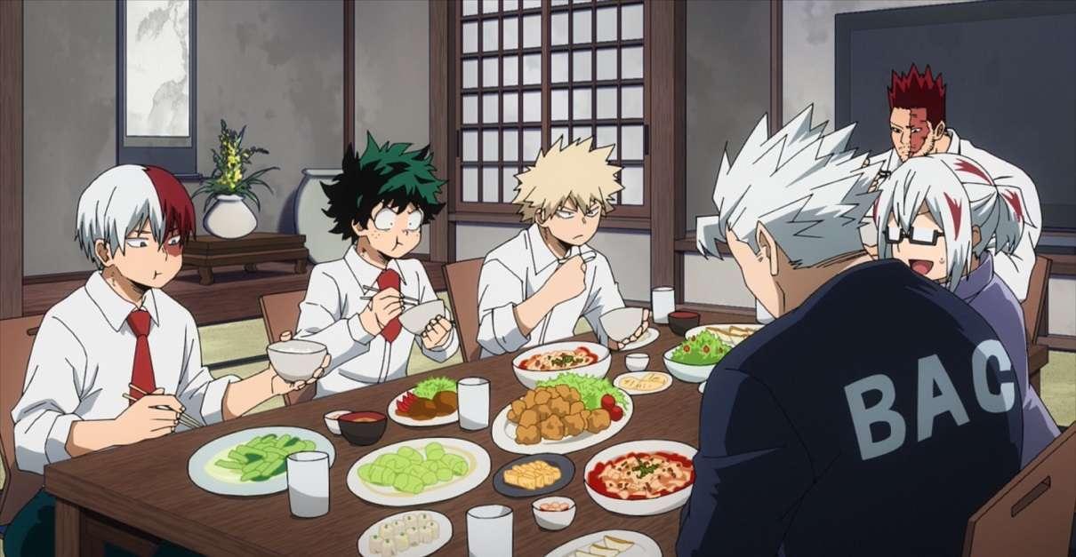 My Hero Academia Family Dinner