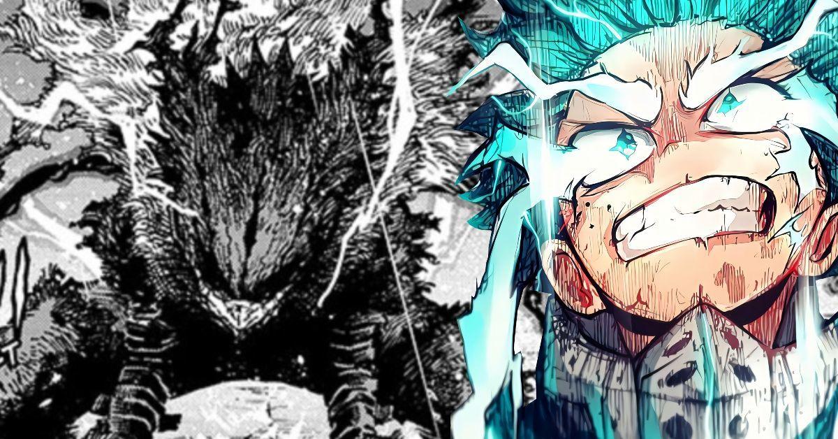 My Hero Academia Izuku Dark Transformation Meta Joke Bakugo Drawn Differently Manga Spoilers