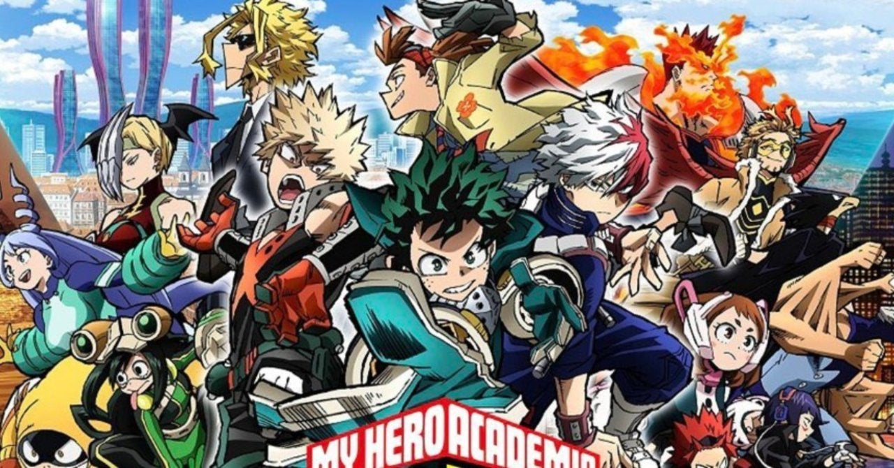 My Hero Academia Announces Worldwide Fan Event For World Heroes Mission Movie The News Motion