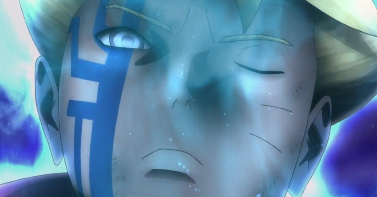 Naruto Boruto Byakugan Momoshiki Form Karma Anime Spoilers