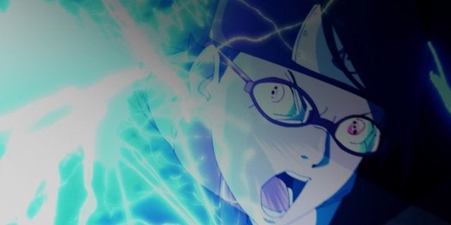 Naruto Boruto Sarada Chidori Boro Fight Anime 982 Fan Reactions