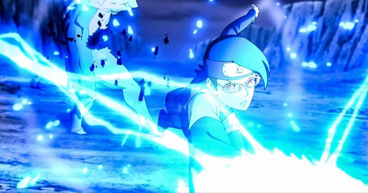 Naruto Sarada Chidori