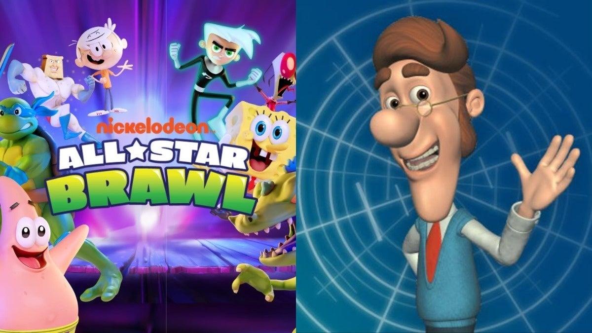 Nickelodeon All Star Brawl Hugh Neutron