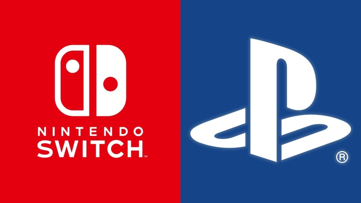 nintendo switch playstation collage