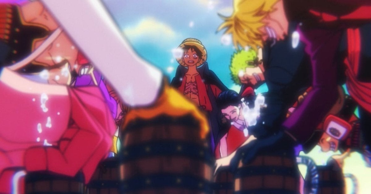 One Piece Straw Hats Wano Jinbe Welcoming Promise