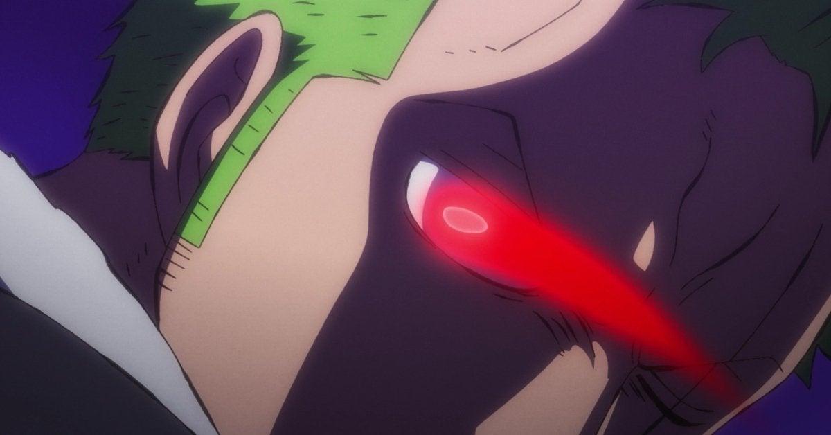 One Piece Zoro Conqueror's Haki Anime Wano