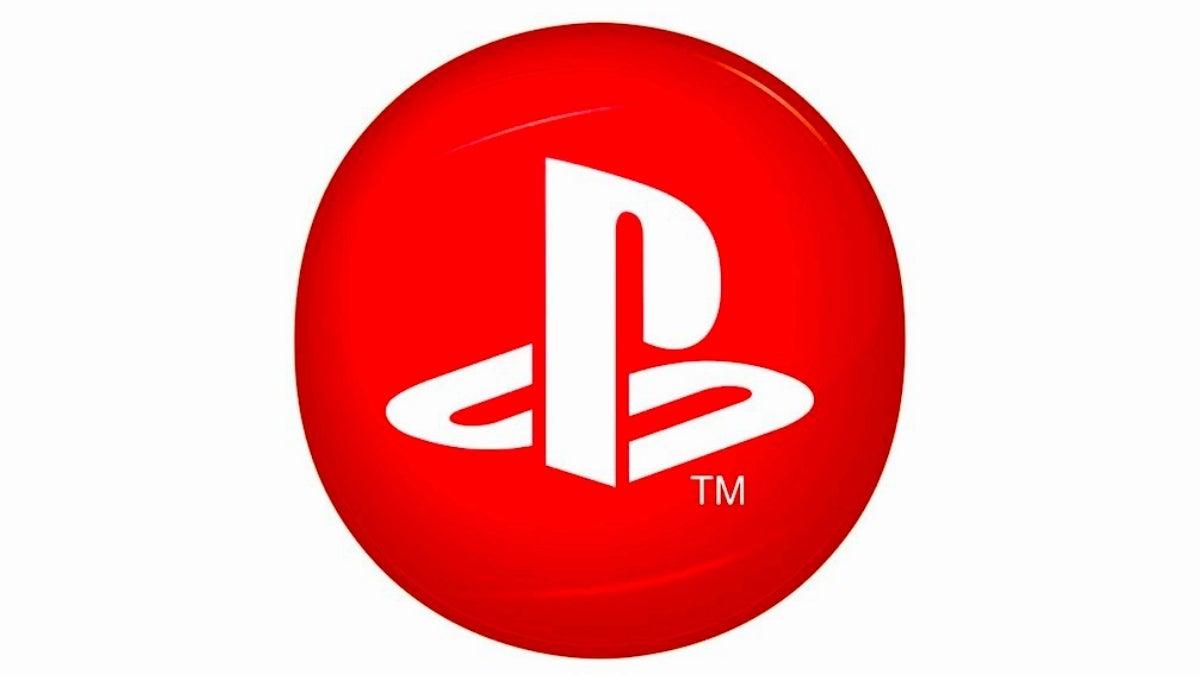 playstation circle logo red