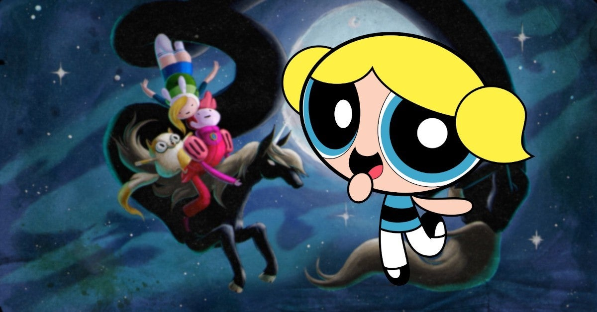 Powerpuff Girls Adventure Time Fionna Cake New Series Cartoon Netwark Trademarks