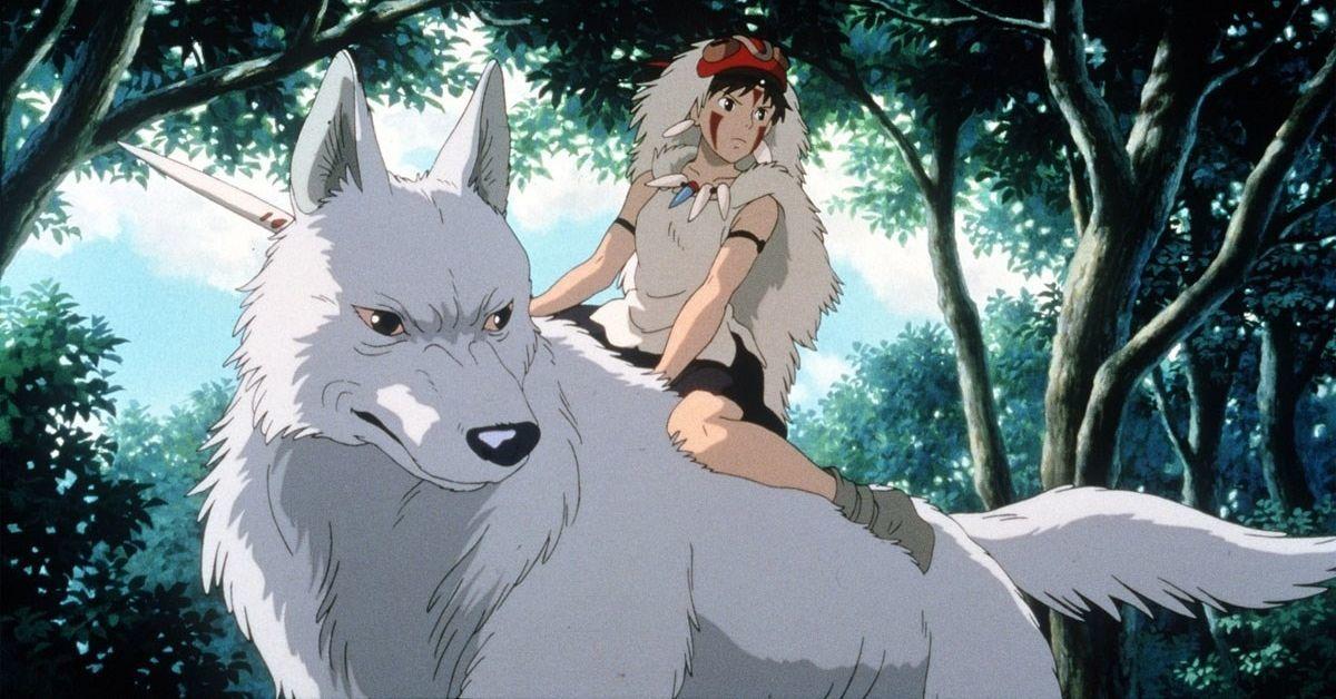 Princesse Mononoké Studio Ghibli Hayao Miyazaki