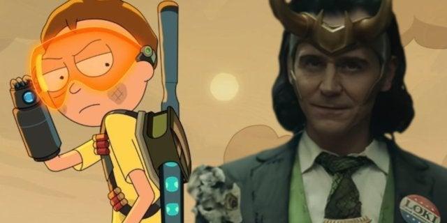 Rick and Morty Adult Swim Loki Disney Plus