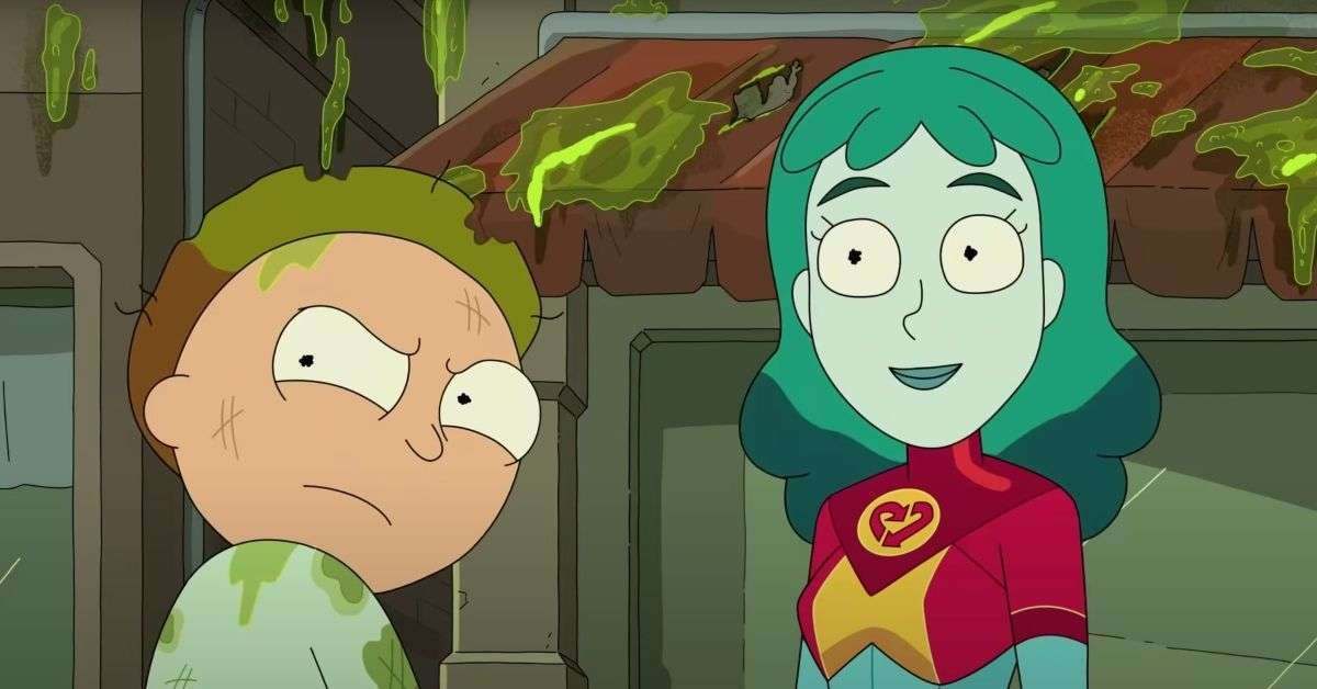 Rick And Morty Captain Planet