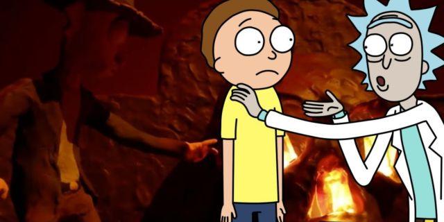 Rick and Morty Season 5 Indiana Jones Adult Swim