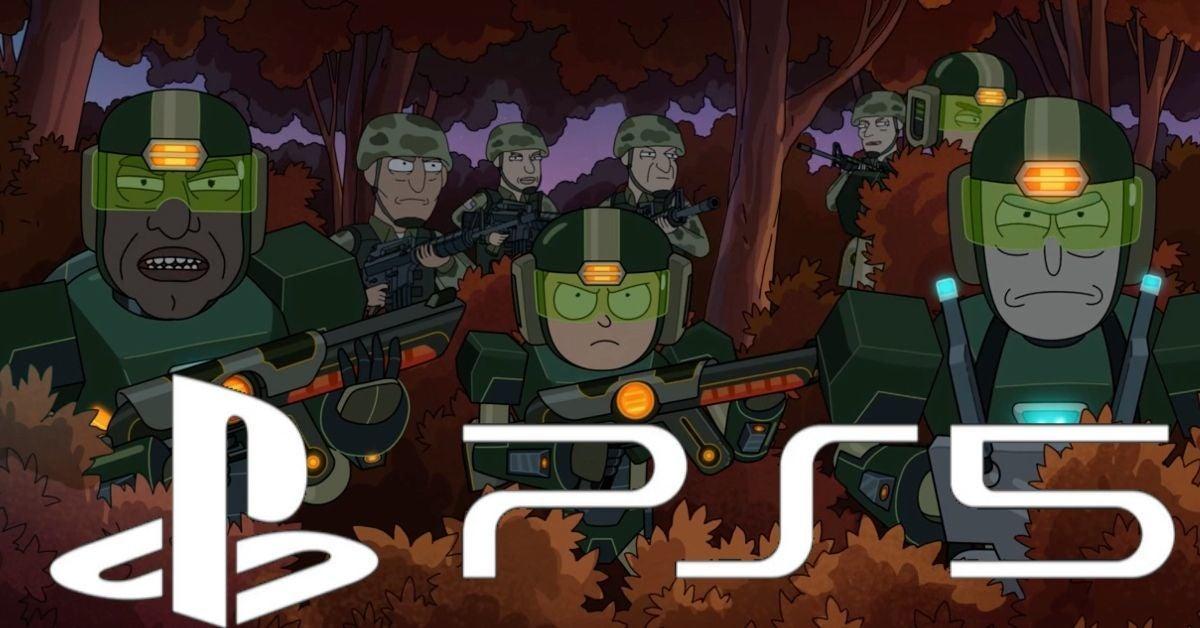 Rick and Morty Season 5 PlayStation 5 Easter Egg