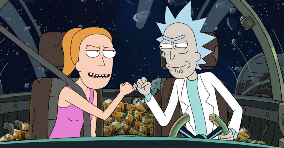 Rick and Morty Season 5 Rick Summer Bonding Adult Swim