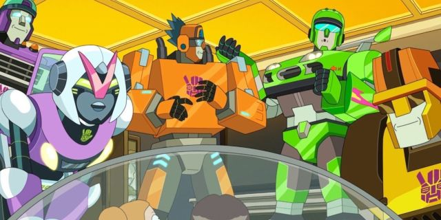 Rick and Morty Season 5 Transformers