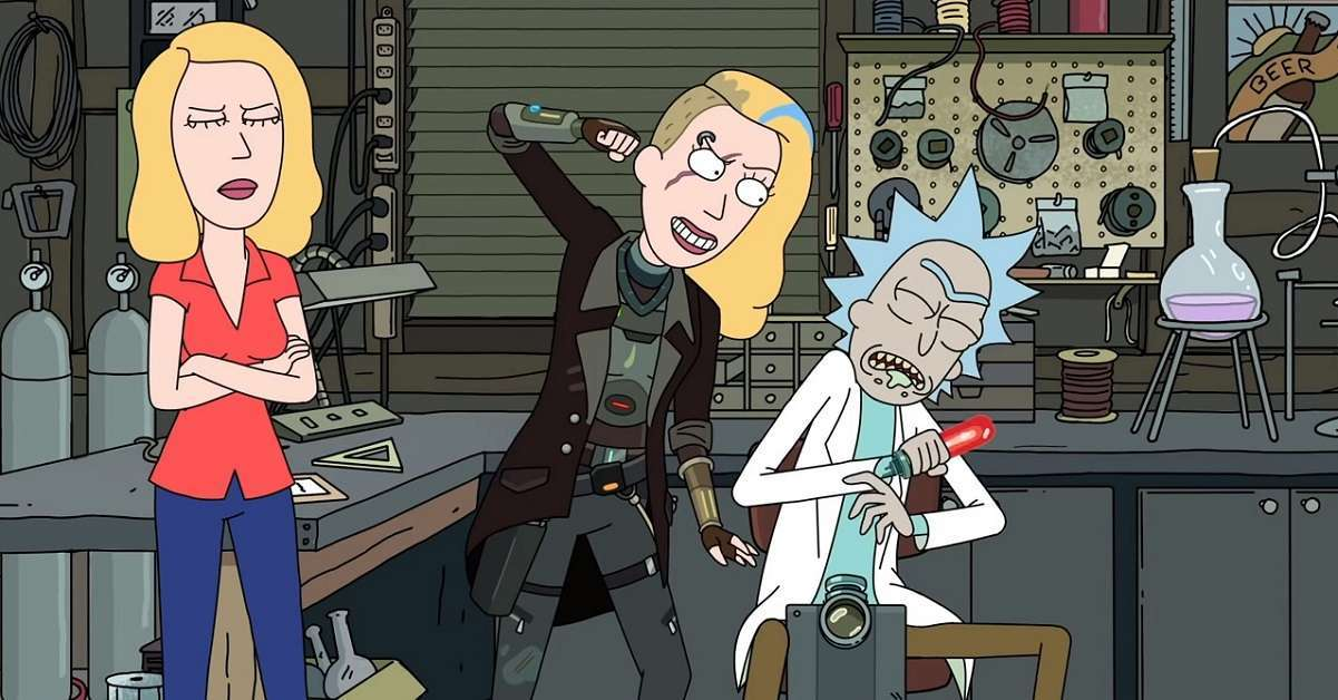 Rick And Morty Space Beth