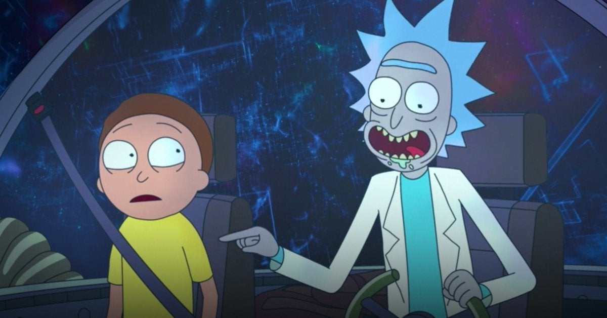 Rick and Morty Space Jam 2 Cameo HBO Max