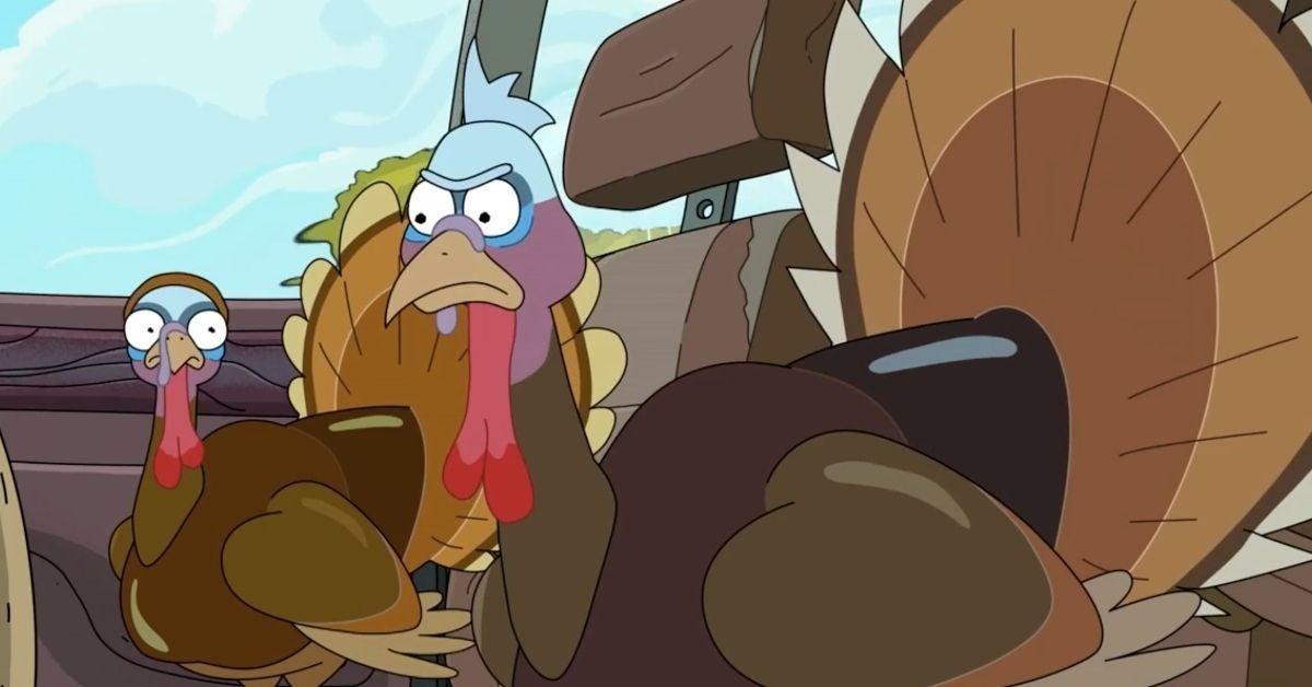 Rick and Morty Turkeys Season 5 Adult Swim