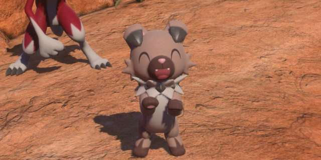 Rockruff New Pokemon Snap