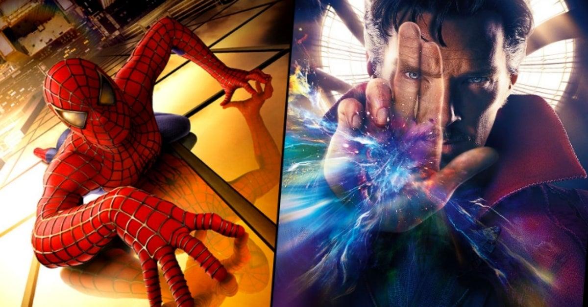 Sam Raimi Spider-Man Doctor Strange marvel