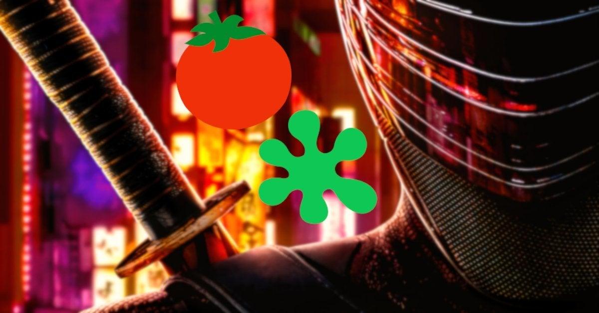 Snake Eyes Movie Rotten Tomato Score