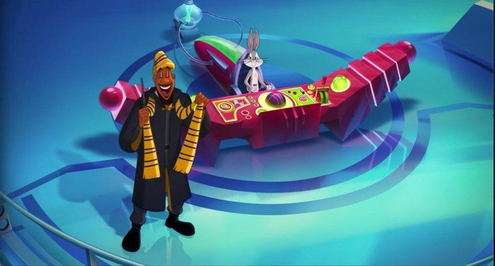 Space Jam 2 New Legacy Lebron Harry Potter Hufflepuff Easter Egg