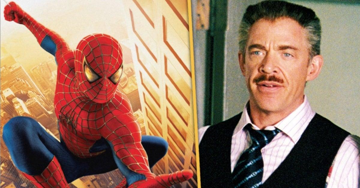 Spider-Man JK Simmons J Jonah Jameson