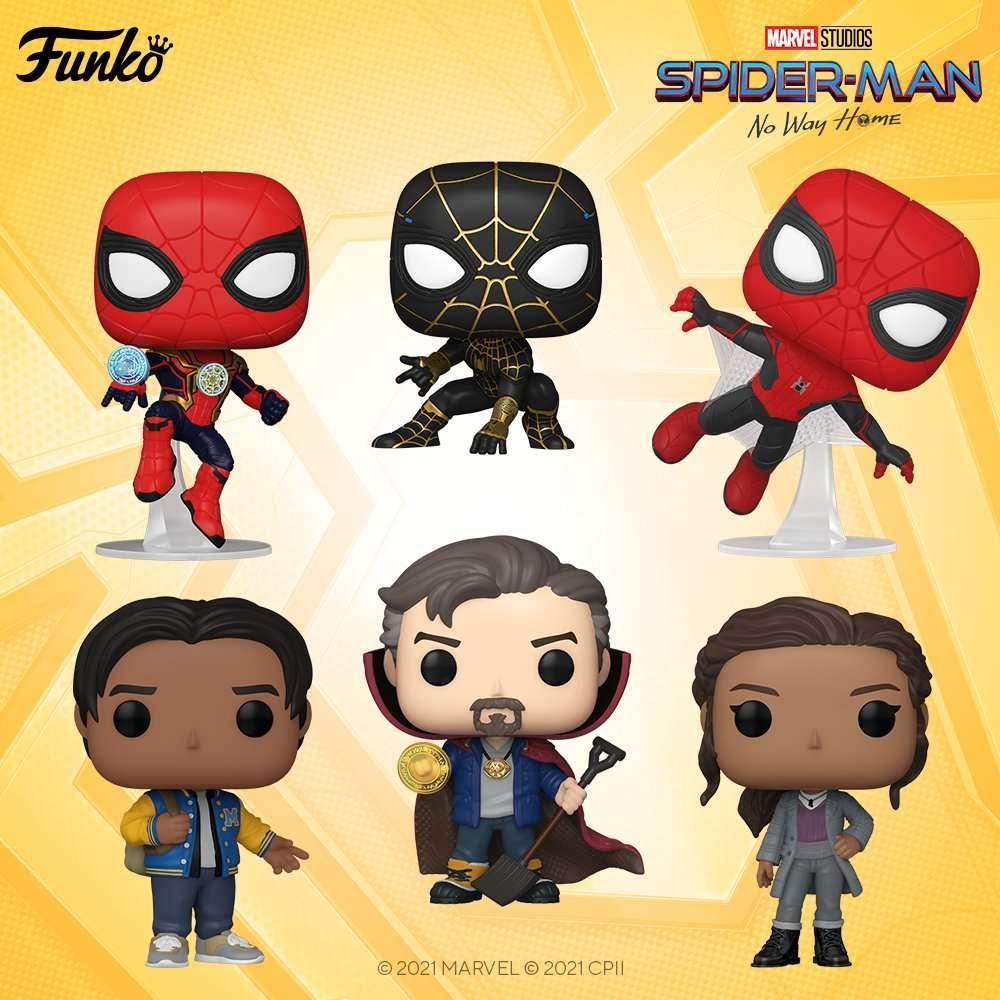 spider-man-no-way-home-funko-pops