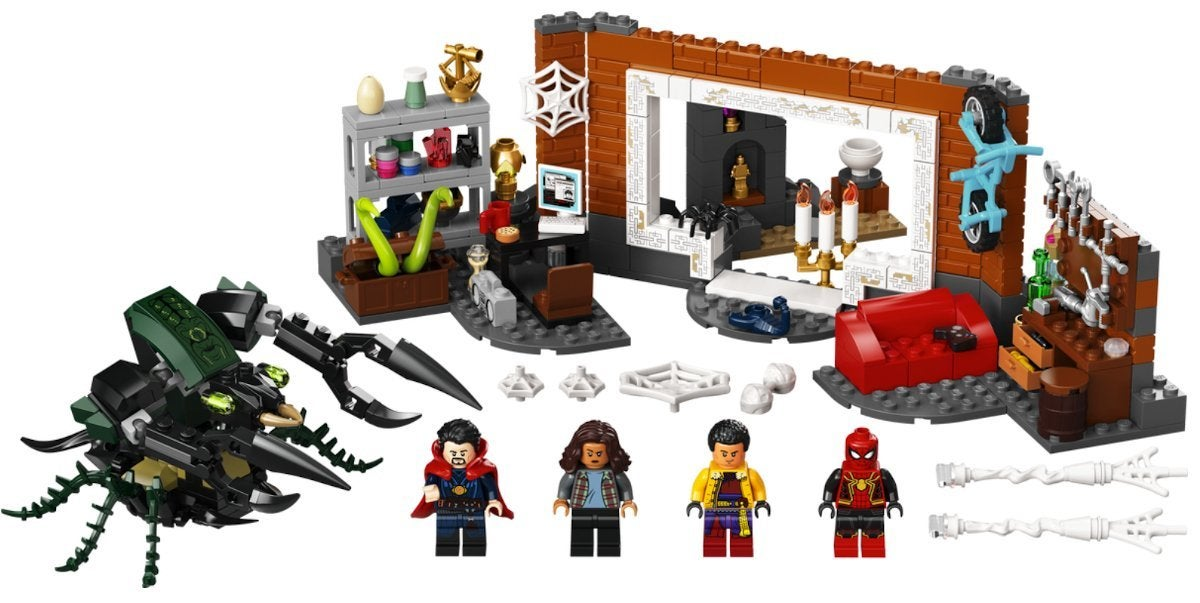Spider Man No Way Home New Costume Suit LEGO Set