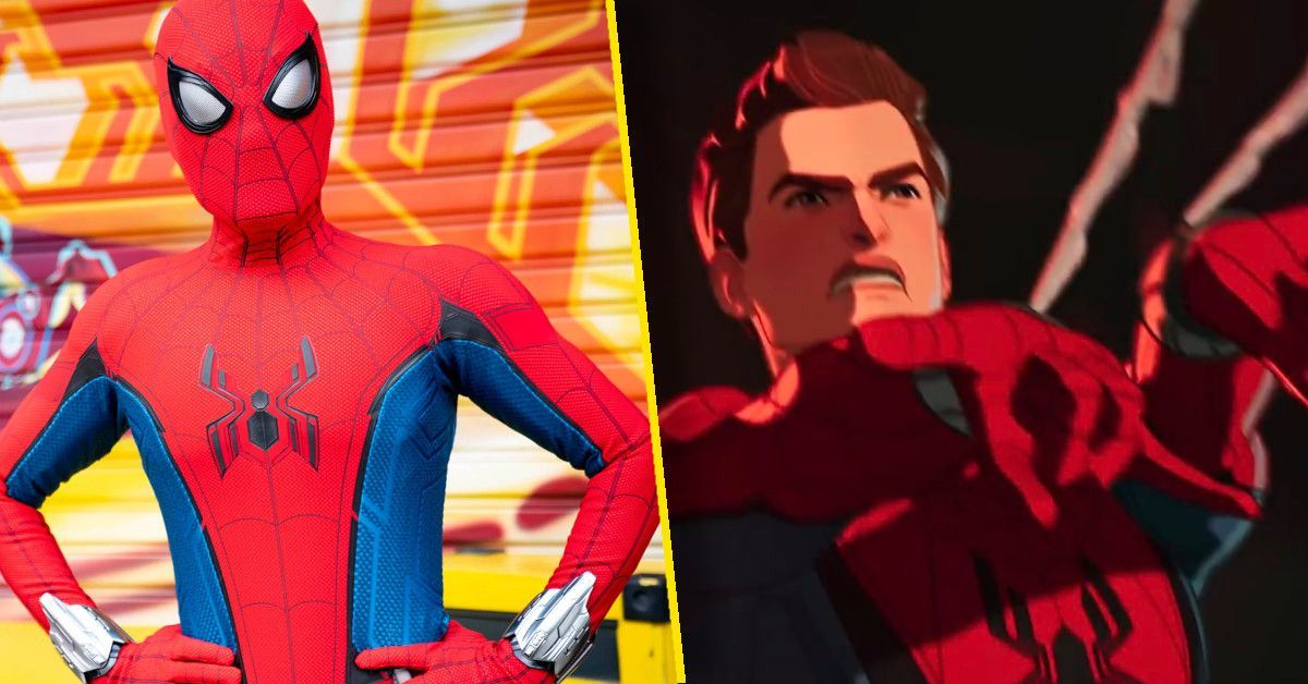 spider-man what if costume avengers campus