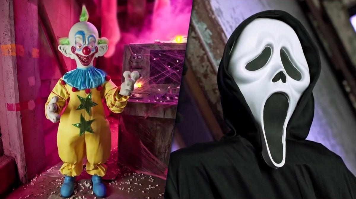 spirit halloween killer klowns from outer space scream ghostface