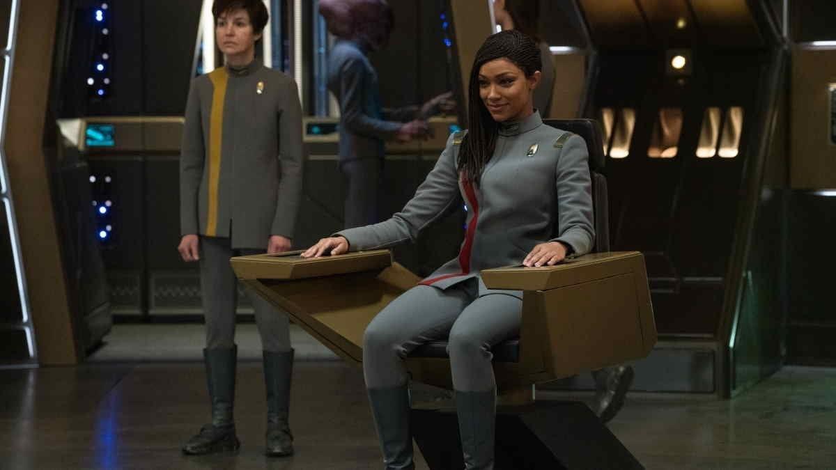 Star Trek Discovery Season 4 Michael Burham Captain