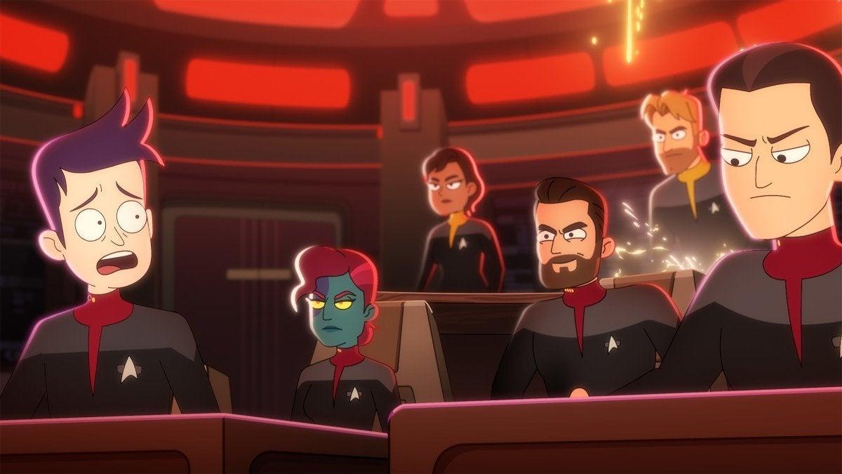 Star Trek  Lower Decks Season 2 Trailer Comic-Con