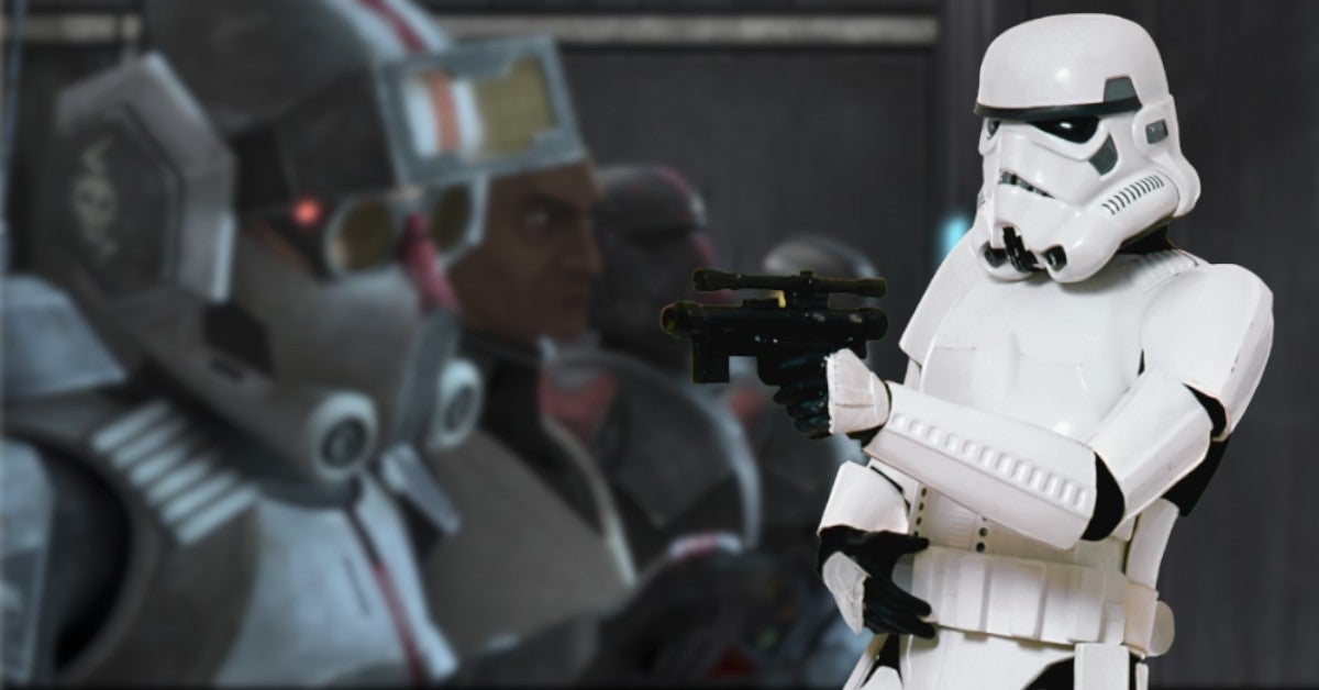 Star Wars Explains Why Stormtroopers Are Worse Clone Troopers Bad Batch 14 Spoilers