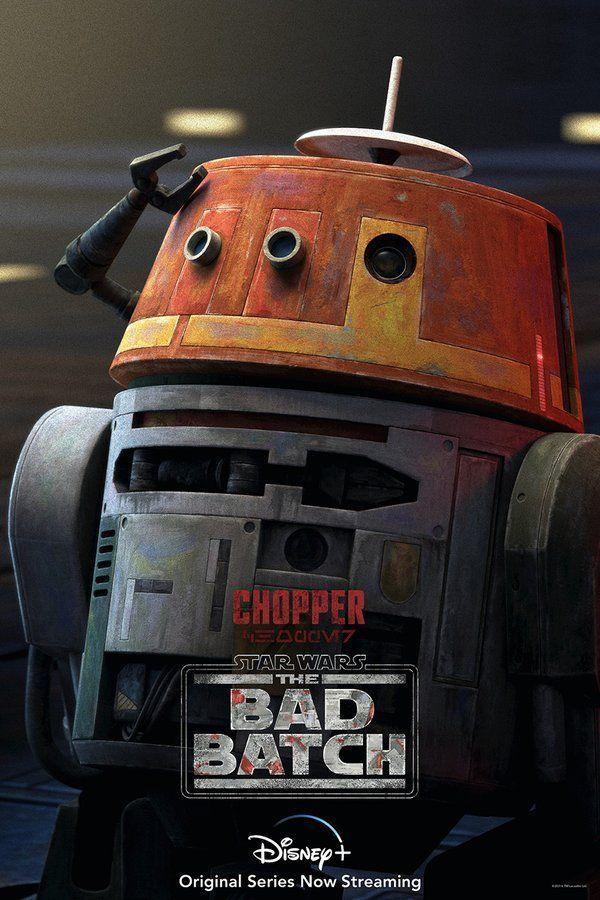 Star Wars The Bad Batch Chopper