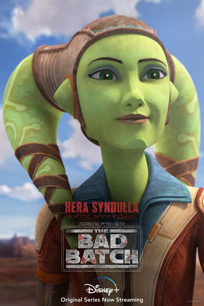 Star Wars The Bad Batch Hera Syndulla