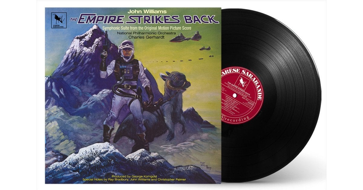 star wars the empire strikes back symphonic suite record vinyl