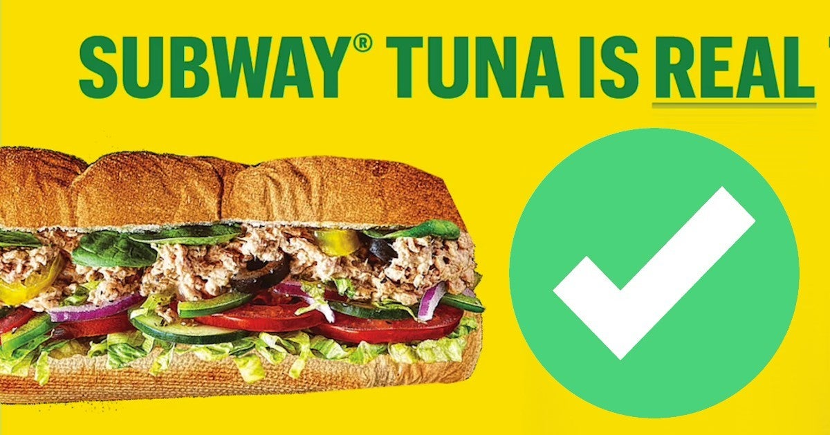 Subway Tuna Is Real Tuna Website Launched Official Fact Checkavif