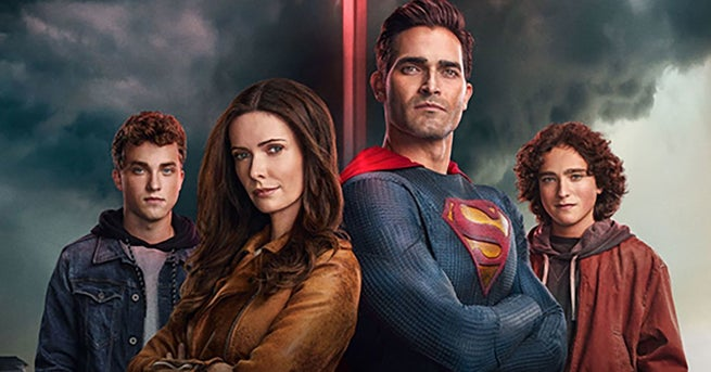 superman and lois poster DC Fandom