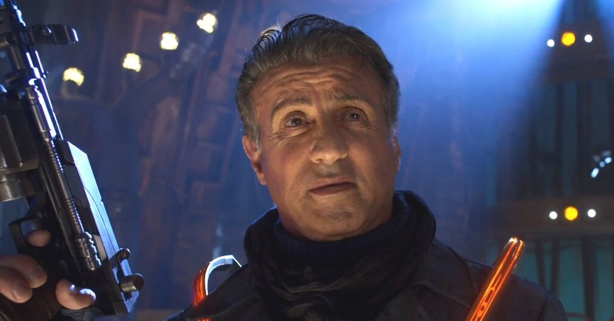 sylvester stallone guardians of the galaxy vol 2