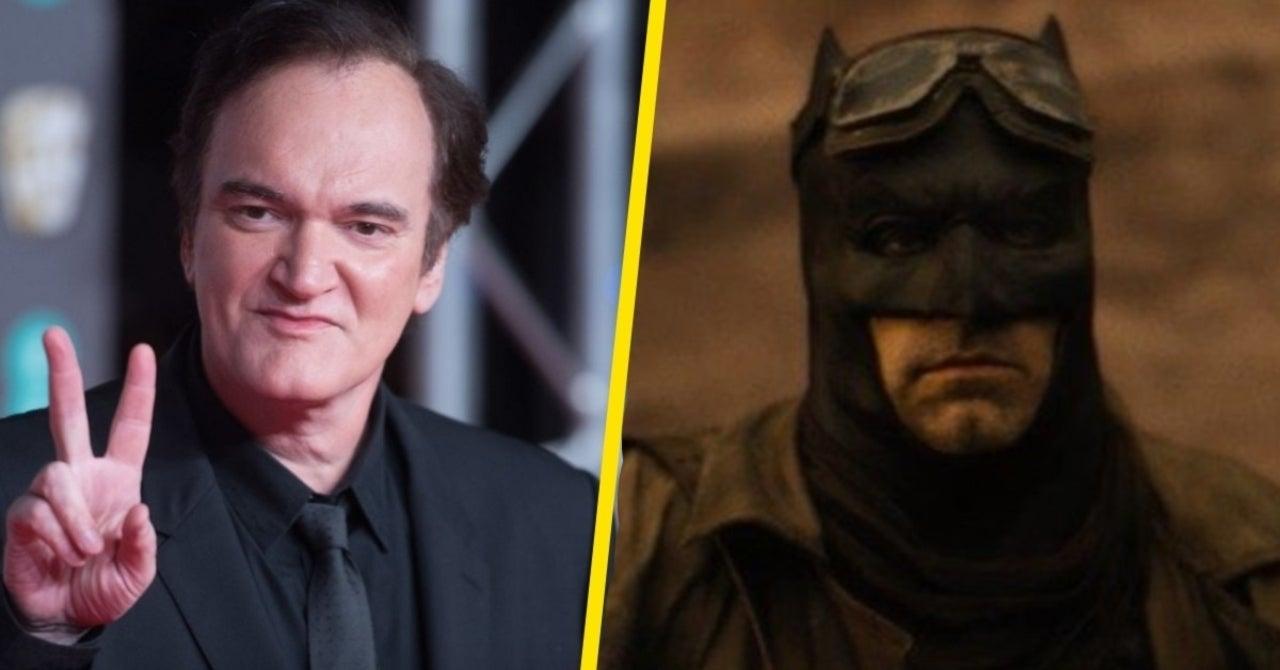 Quentin Tarantino; Snyder Cut; Zack Snyder; Liga da Justiça