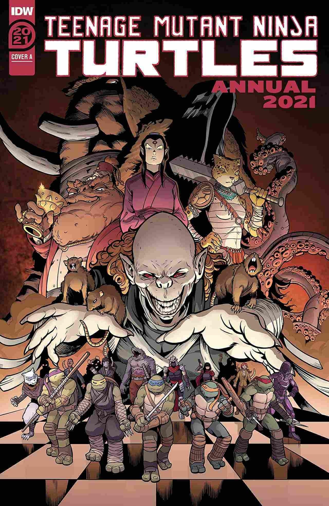 Teenage Mutant Ninja Turtles Annual 2021