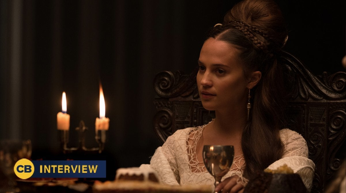 the green knight alicia vikander interview reaction essel