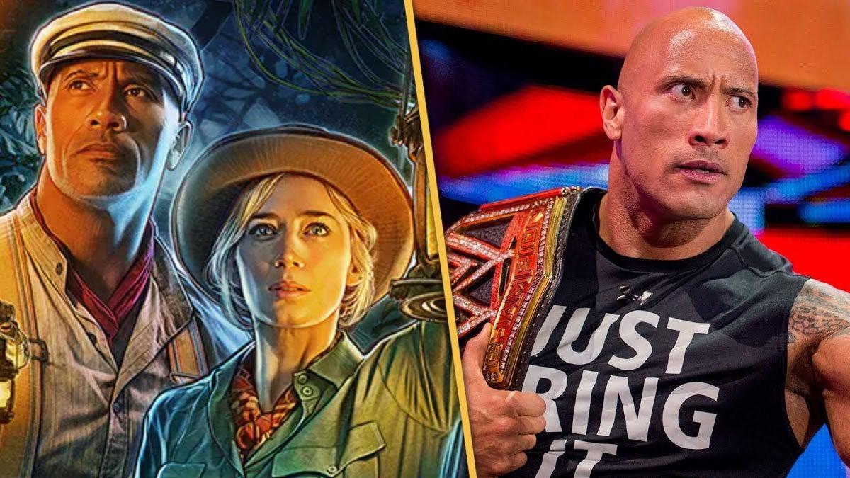 The-Rock-Emily-Blunt-WWE-Jungle-Cruise
