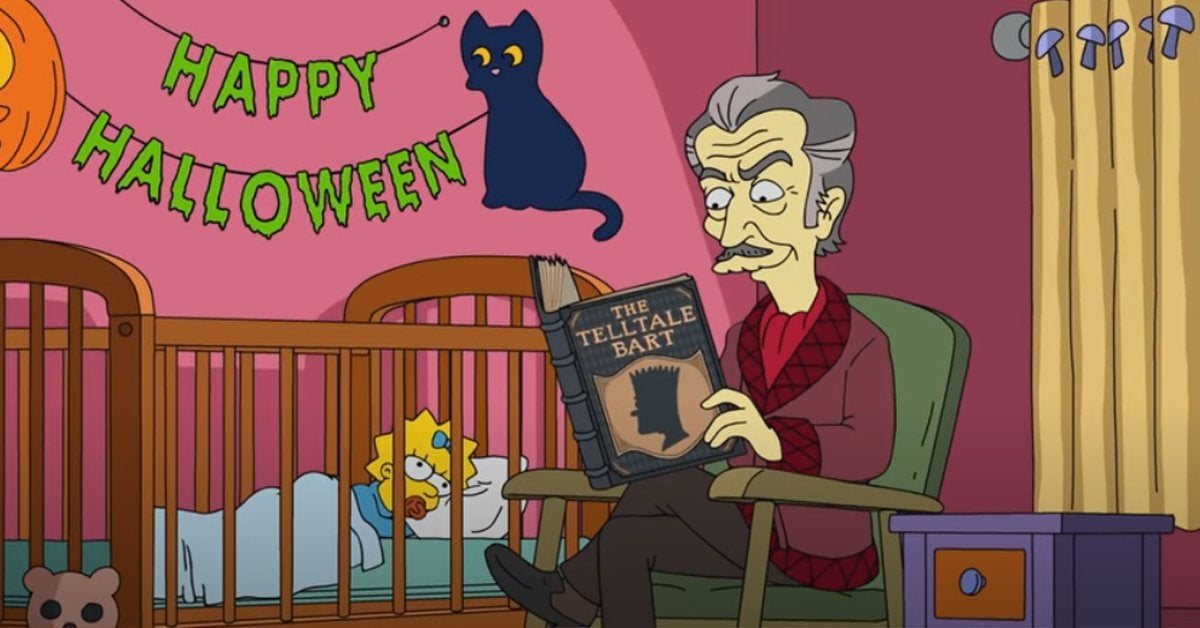 the simpsons treehouse of horror vincent price