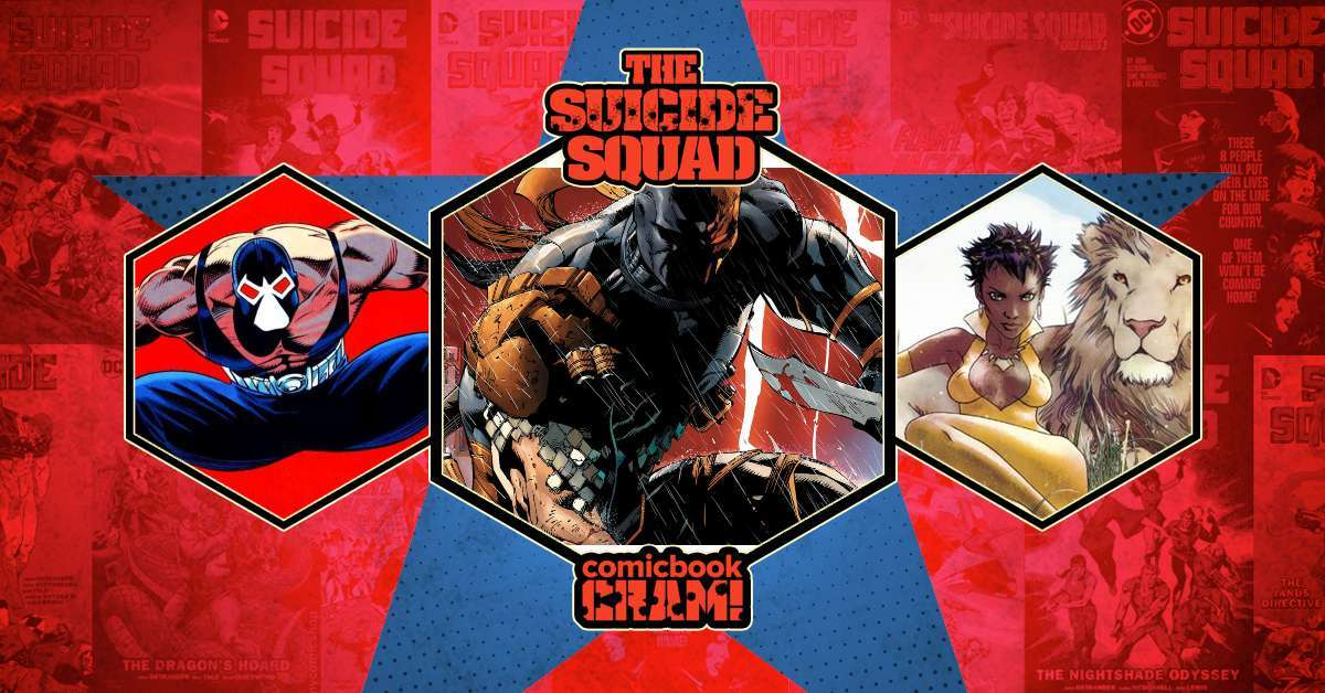 The Suicide Squad comic characters live action