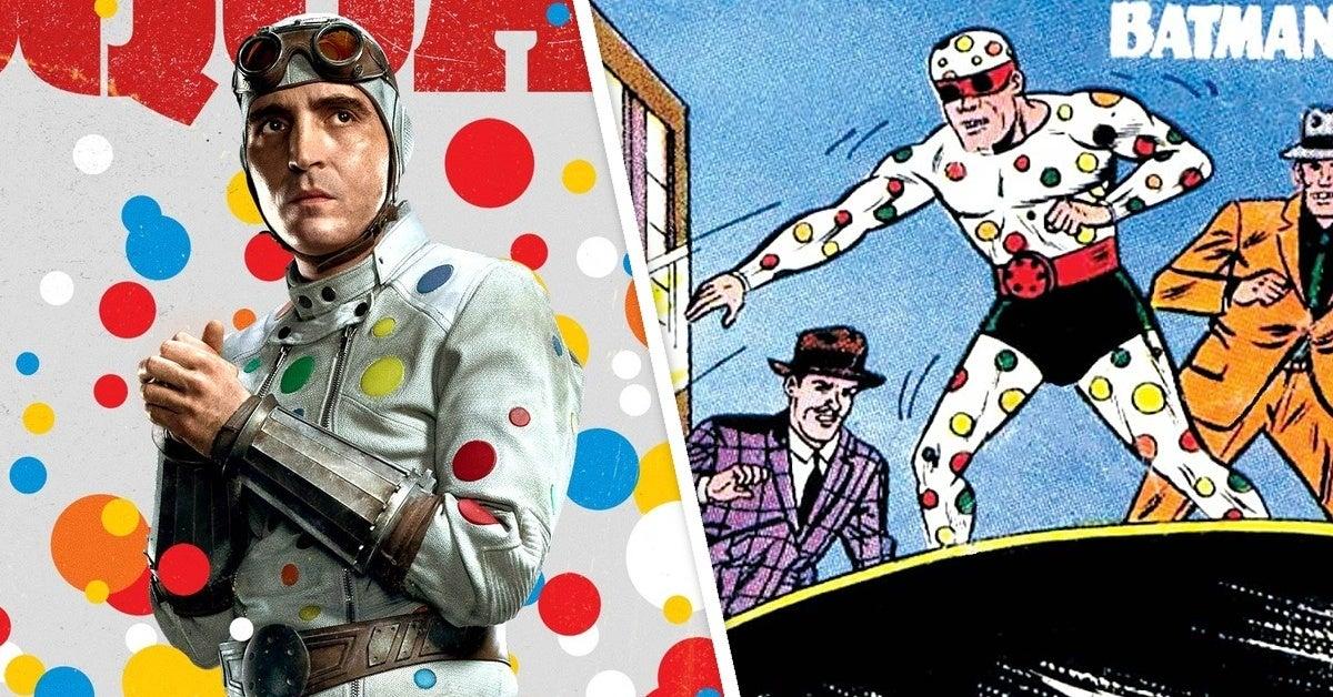 the suicide squad comics polka dot man