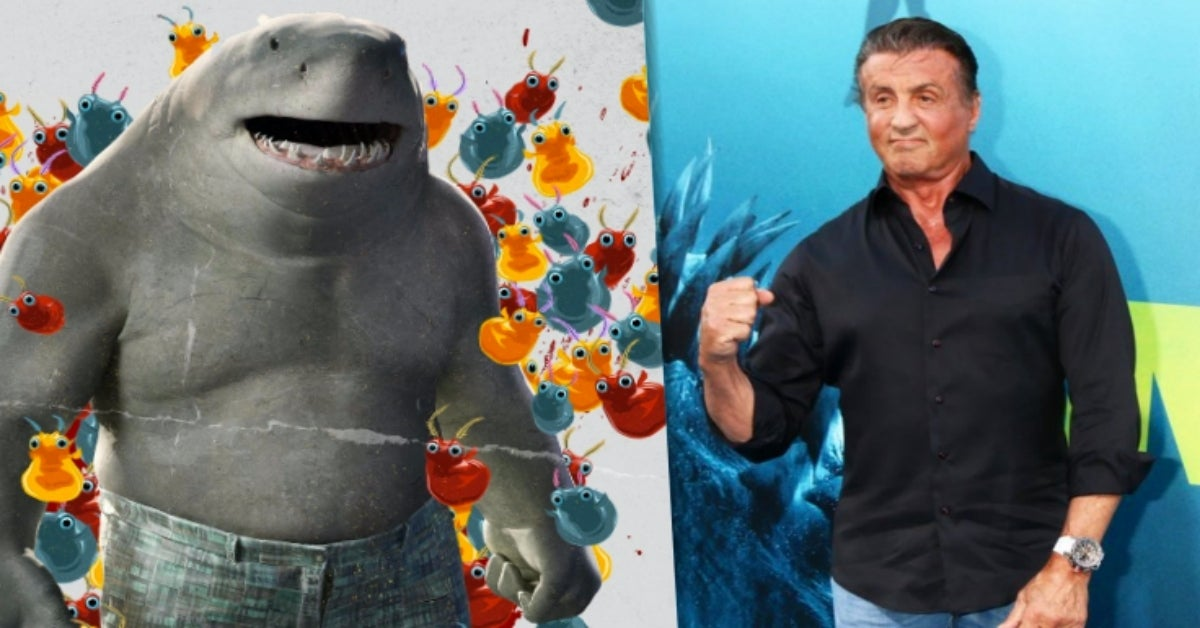 The Suicide Squad King Shark Sylvester Stallone