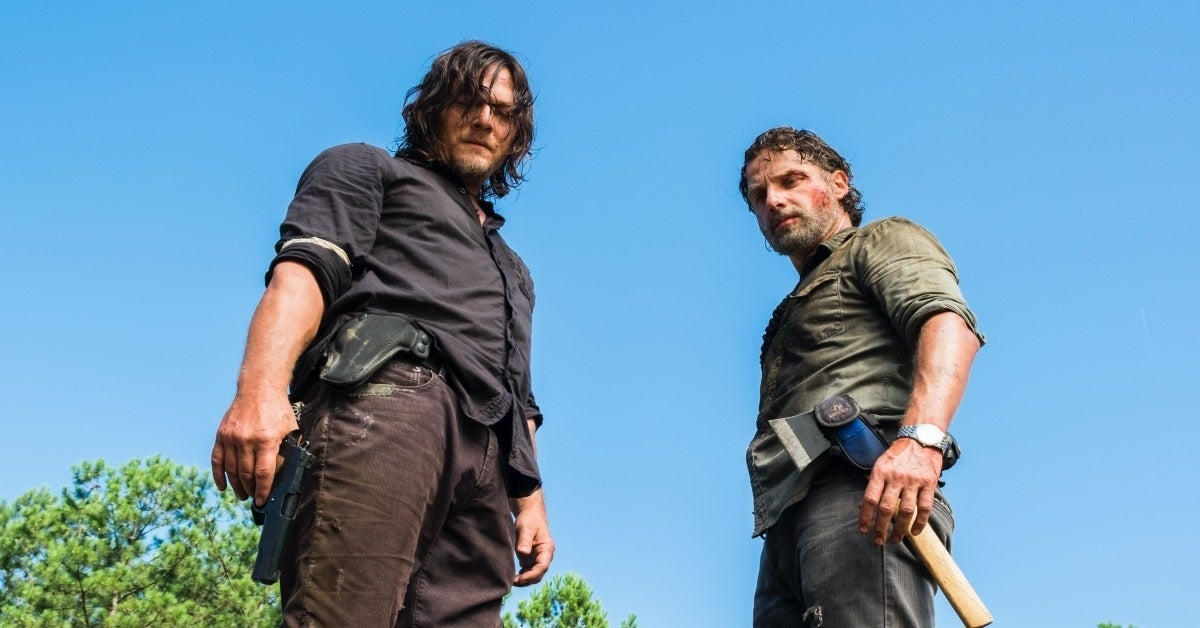 The Walking Dead Daryl and Rick Reedus Lincoln
