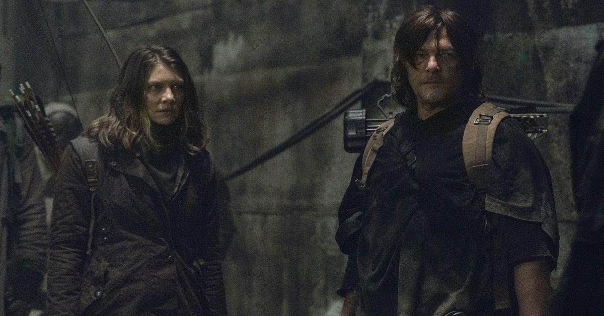 The Walking Dead Daryl Maggie Negan Season 11 premiere